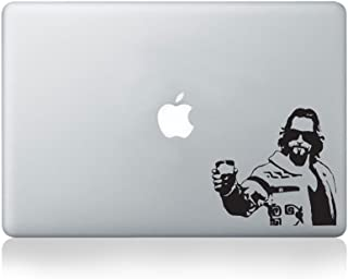 The Dude Vinyl Decal for Macbook (13-inch Macbook and 15-inch Macbook)/Laptop/Guitar
