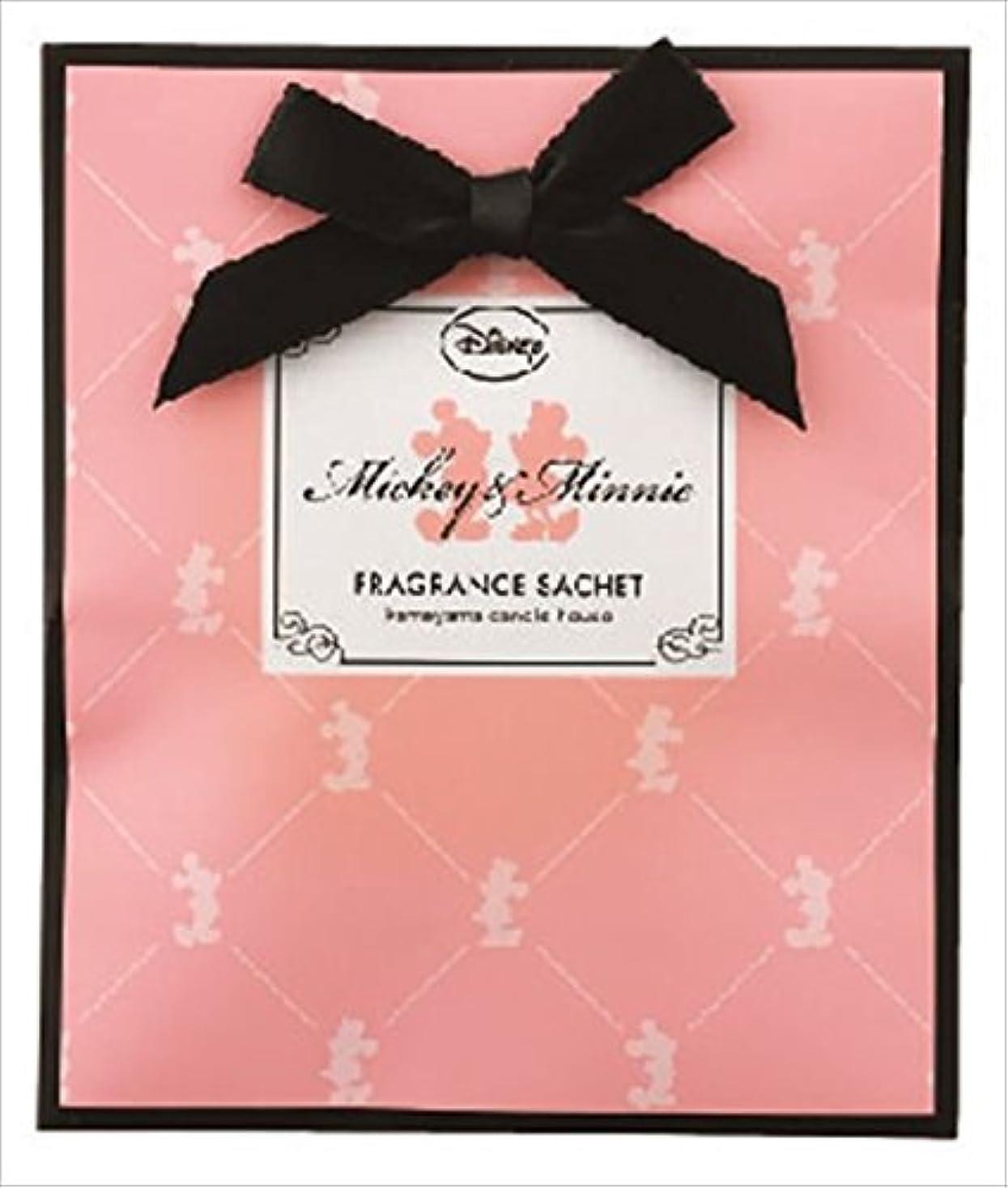 唯一ネクタイ凍結kameyama candle(カメヤマキャンドル) ディズニーフレグランスサシェ 「 ミッキー&ミニー 」 ルームフレグランス 110x130x12mm (E3210510)