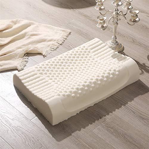 Sonno sano cuscino insonnia aiuto cervicale massaggio cuscini confortevole memoria cuscino biancheria da letto forniture 3.12 (colore : 1, dimensioni: 40 x 60 cm)
