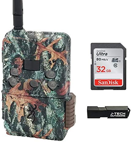 Browning Defender Wireless Pro Scout 2020 Cellular Trail Game Camera AT T Bundle Includes 32GB product image