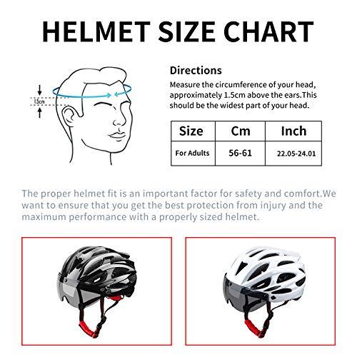 51JgfaFwGzL XINERTER Adult Bike Helmet Road Bike