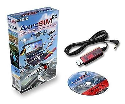Drone Simulator AeroSIM RC | Flight Pilot Training | Airplane Multirotor Helicopter | Adapter FUT (Futaba)