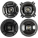 Polk Audio - A Pair of DB652 6.5' Coaxial and A Pair of DB402 4' Speakers - Bundle Includes 2 Pair