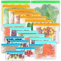20-Pack VEHHE Leakproof Reusable Storage Bags