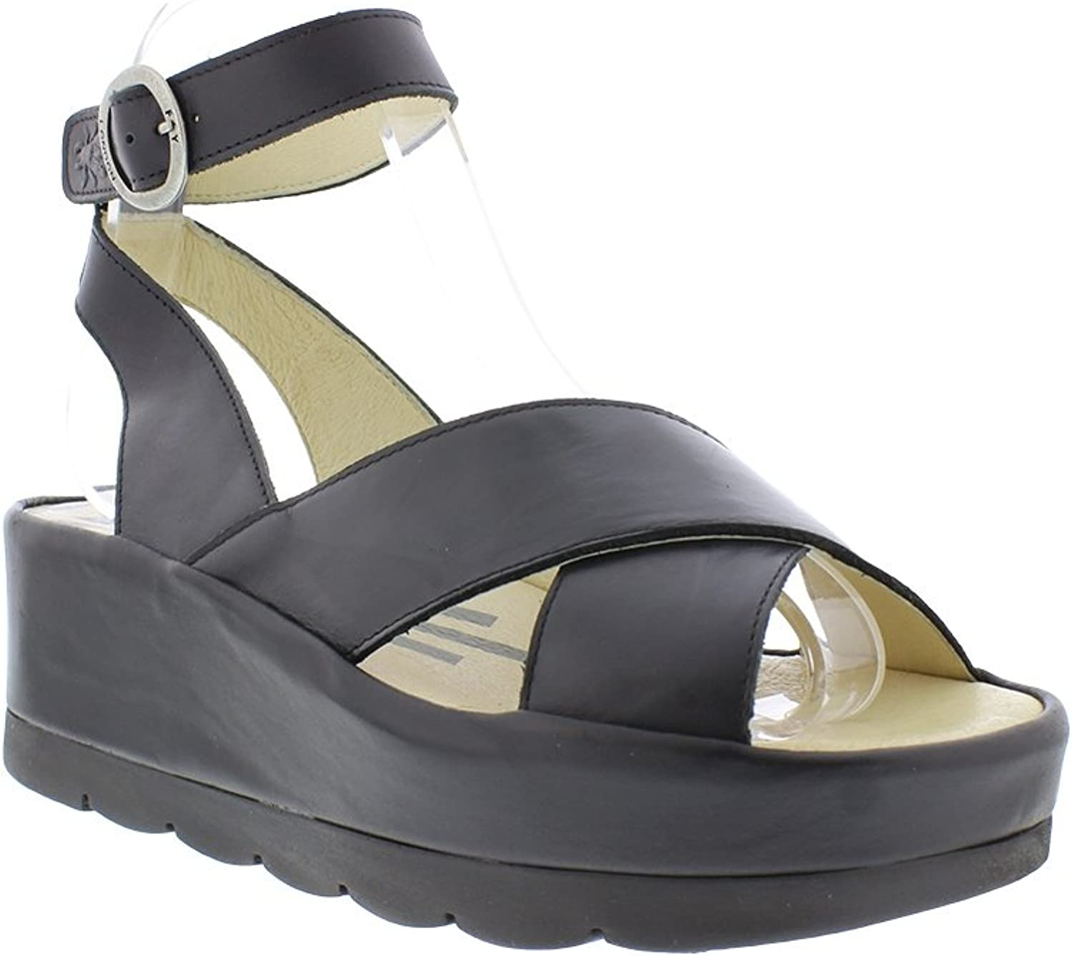 Fly London Womens Bite 850 Leather Sandals