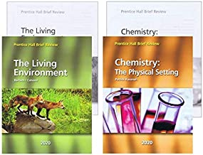 [2020 Brief Review Prentice Hall] NY Living Environment + Chemistry : The Physical Setting with Answer Keys