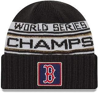 8921edd6d05554 New Era Boston Red Sox 2018 World Series Champions Men's Locker Room Knit  Hat