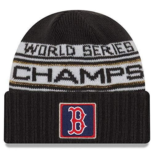 0bcf5deec1f893 New Era Boston Red Sox 2018 World Series Champions Men's Locker Room Knit  Hat