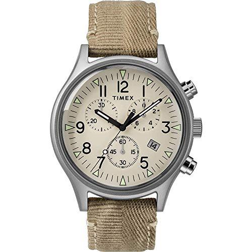 Timex Orologio Analogico Quarzo Uomo con Cinturino in Tessuto 7.53049E+11