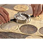 GEFU-28490-Ravioli-Pasta-Mold-Round-Silver-Black