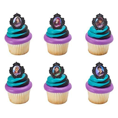 Price comparison product image Descendants Rebel Attitude Cupcake Rings - 24 pc