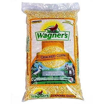 Wagner s 18542 Cracked Corn Wild Bird Food 10-Pound Bag