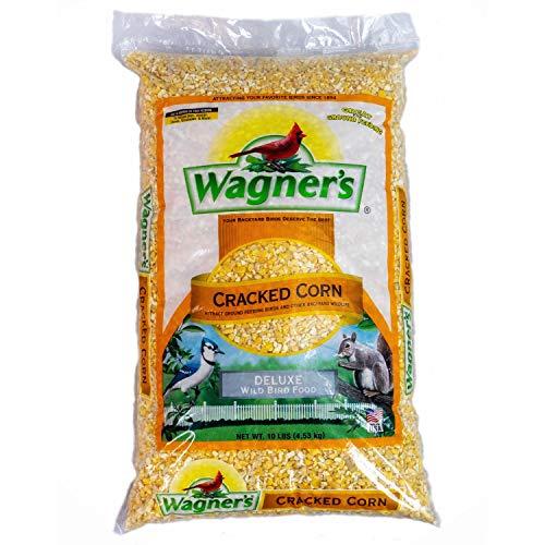 Wagner's 18542 Cracked Corn Wild Bird Food, 10-Pound Bag