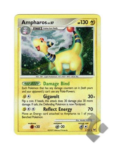 Pokemon - Ampharos (1) - Platinum - Holo