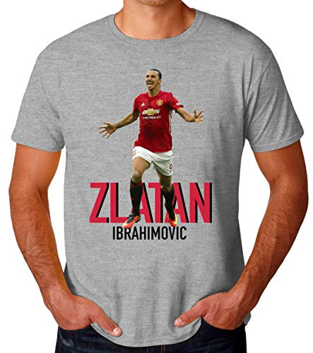 Wicked Design Zlatan Ibrahimovic Camiseta para Hombres Large