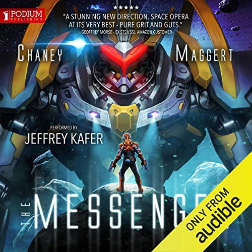 The Messenger audiobook cover art