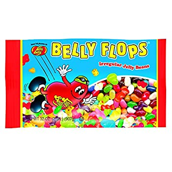 Jelly Belly Belly Flops Irregular Jelly Beans Assorted Flavors 2-lb