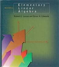 Elementary Linear Algebra by Ron Larson (1996-02-01)
