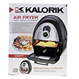 Kalorik Convection Air Fryer - Includes Cookbook - Black FT37999SS