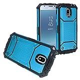 Z-GEN - Galaxy J3 2018 J3 Star/Achieve/Aura/Orbit, J3 V J3V 3rd Gen - Aluminum Metal Phone Case Blue