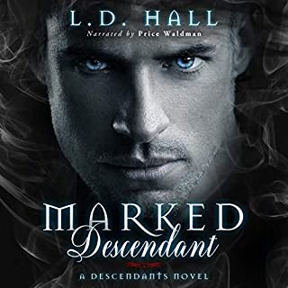 Marked Descendant audiobook cover art