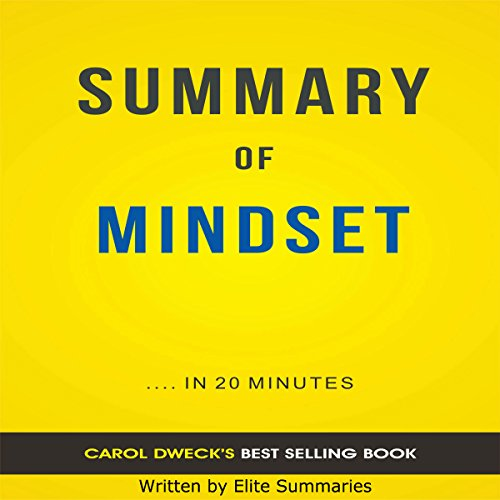 Mindset: by Carol Dweck | Summary & Analysis cover art