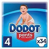 Dodot Pants talla 4 ( 9-15 kg), pack de 3 x 34, total de 102