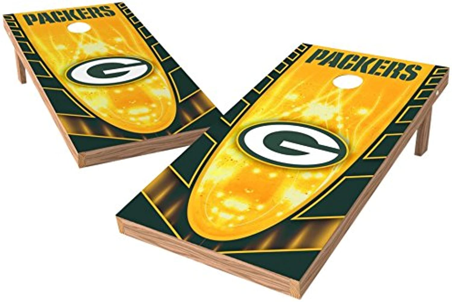 PROLINE NFL 2'x4' Cornhole Board Set with blueetooth Speakers Hot Design, Los Angeles Chargers(P4NSPK11161)