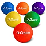 GoSports Playground Ball (Set of 6) with Carry Bag and Pump, 8.5'