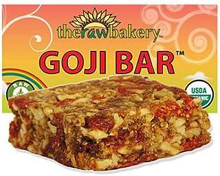 Blue Mountain Organics, Raw, Vegan, Paleo, Organic, Sprouted Goji Bar, Pack of 3 (6 oz)