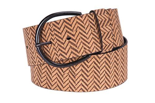 Tamaris Leather Belt W95 Beige