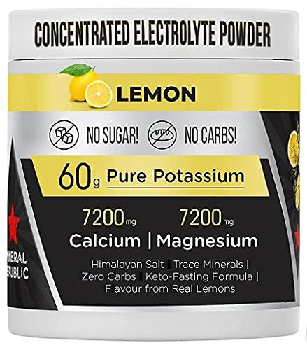 Honest Electrolitos - Alta potencia sales minerales sin azúcar | total recovery bebida isotonica en polvo | sales minerales para deporte