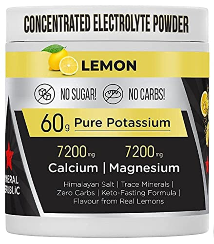 Honest Electrolyte Powder: elettroliti senza zucchero ad alta potenza/elettroliti Keto a zero calorie con magnesio, potassio concentrato in polvere, sodio e minerali Keto | sali per il digiuno