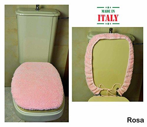 CASA TESSILE Copri ASSE WC Cotone MP - Rosa