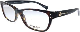 Women's HC6082 Eyeglasses Dark Tortoise/Black 53mm