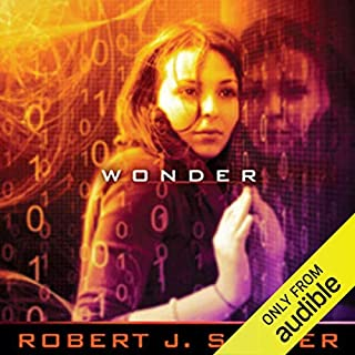 WWW: Wonder audiobook cover art