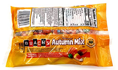 Brach's Classic Mellowcreme Autumn Mix Bundle.Two (2) Bags of Brach's 11oz Autumn Mix and one Recipe Card from Carefree Caribou. Two bags of Brachs Holiday Candy Corn Favorite!