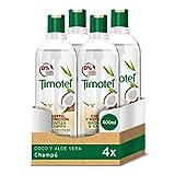 Timotei Shampoo Coco und Aloe Vera–4Pakete 400ml: Total: 1600ml