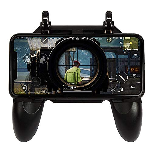 litty089 Joysticks Game Controller 4.5-6.5inch Teléfono Móvil Game Controller Gaming Joystick para PUBG Android iOS Negro