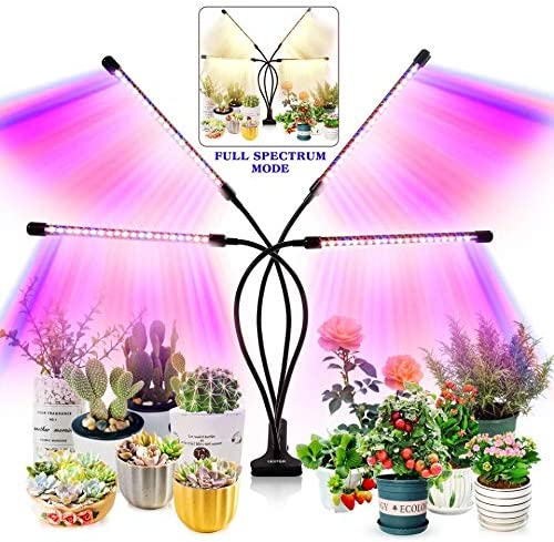 Grow Light for Indoor Plants Upgraded Version 80 LED Lamps with Full Spectrum Red Blue Spectrum product image