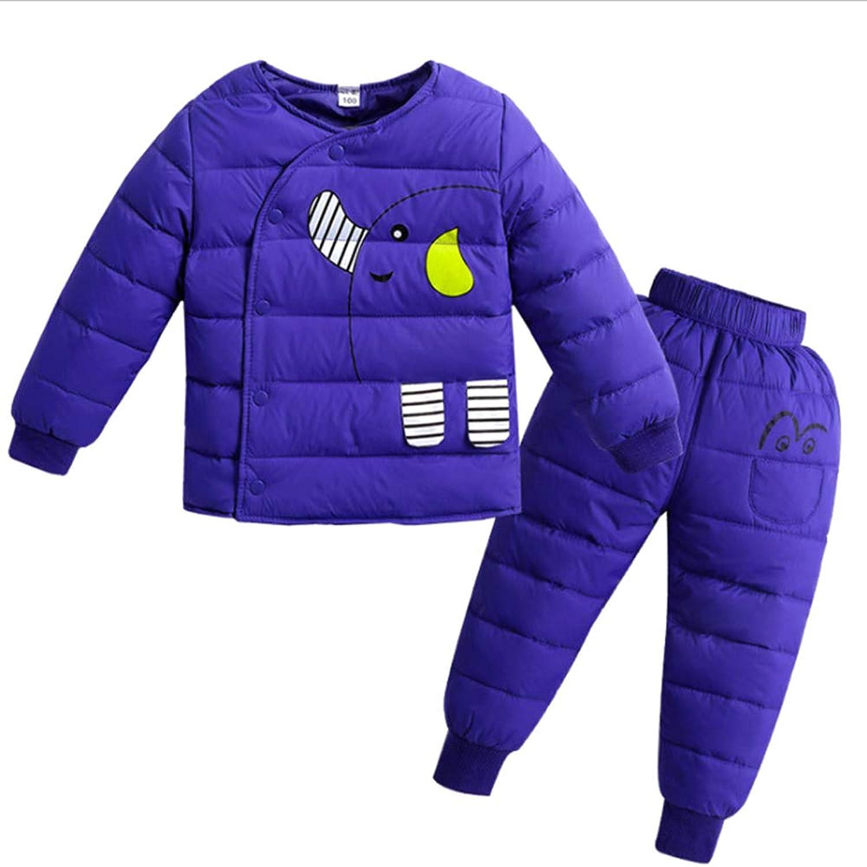 KINDOYO ベビーコート - 女の子ジャケット 棉コート ダウンコート 子供 ユニセックス ダウン 防風 暖かい 秋冬服