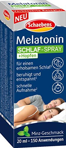 Schaebens Melatonin SOFORT-Spray, 20 ml, neutral