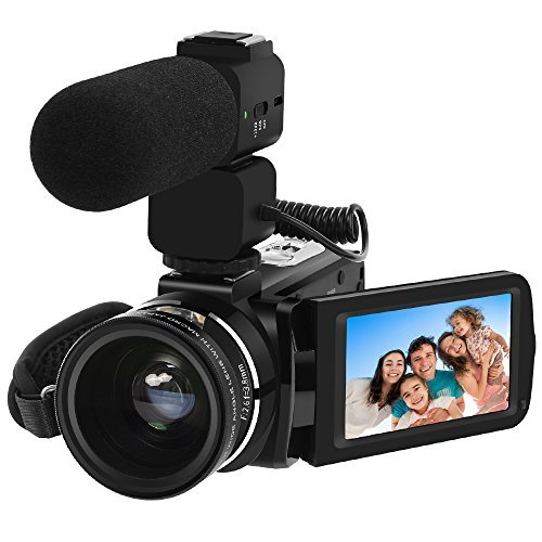 Our #3 Pick is the Lakasara 1080p Camcorder