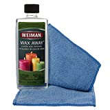 Weiman 8 Ounce Wax Away Candle Wax Remover Carpet Fabric Furniture Cleaner (Packaging Design May Vary)