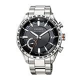 [シチズン] 腕時計 アテッサ F150 Eco-Drive エコ・ドライブGPS衛星電波時計 ダイレクトフライト ACT Line CC3081-52E メンズ シルバー