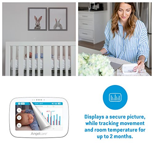 Angelcare Baby Monitor with Video and Breathing Sensor Pad (AC517)