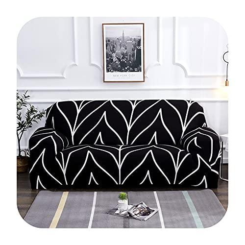 Funda elástica para sofá para sala de estar, antideslizante, elástica, funda de sofá seccional, en forma de L, 1/2/3/4 plazas, 17-4 asientos, 235-300 cm