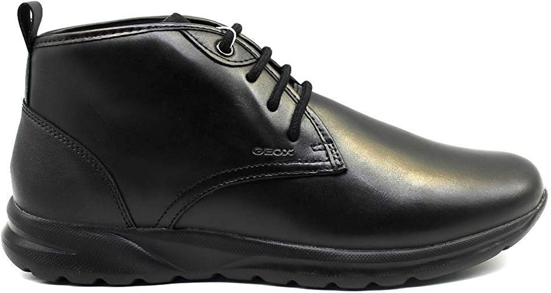 Geox Damian U940HC 043BC Schwarz Stiefeletten Stiefeletten Herren Schuhe Casual  Ladenverkauf Outlet