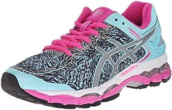 ASICS Women's Gel Kayano 22 Lite Show Running Shoe, Aqua Splash/Silver/Pink Glow, 5.5 M US