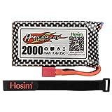 Hosim 9125 Batterie 2000mah Lipo Batterie 7.4v Batterie Rechargeable 25-DJ02 1:10 Échelle 9125 Tous TerraiSpeed Monster Truck Accessoires Accessoires RC Car Truggy High